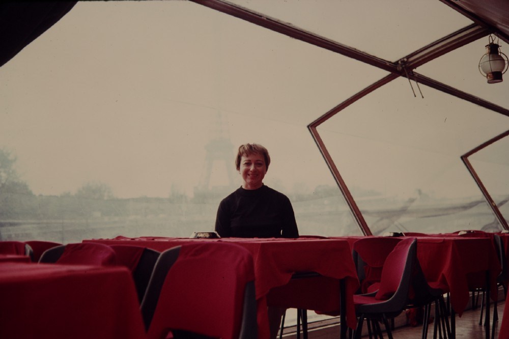 Grandma Ethel, in Paris. Photo by Joe Ellenbogen.