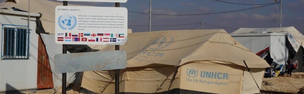 A scene from Zaatari refugee camp, Jordan.Brian Tomaszewski