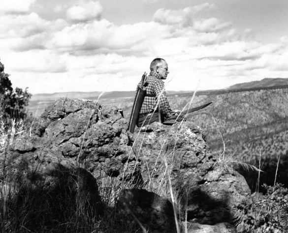 Leopold's trips to the Rio Gavilan region of the northern Sierra Madre in 1936 and 1937 helped to shape his thinking about land health. US Forest Service , CC BY