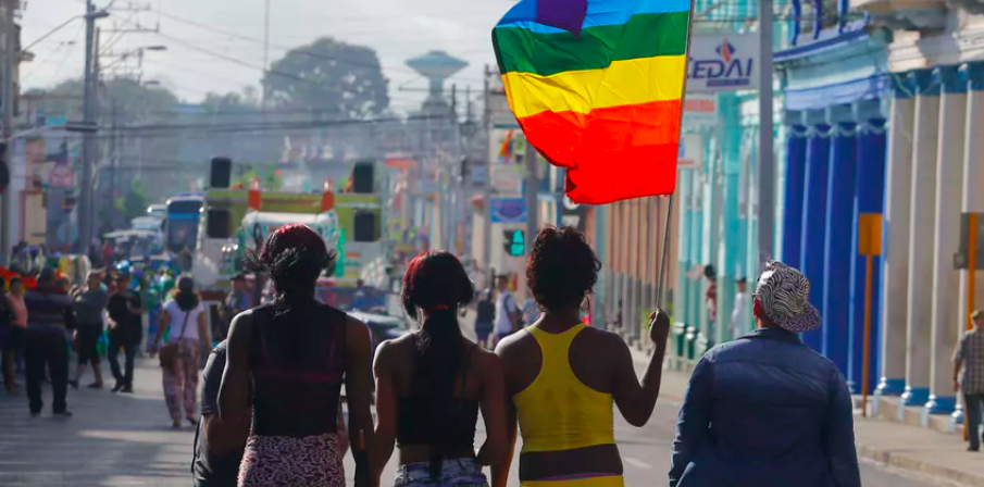 As gay Cubans gain more rights, opposition is also growing. AP Photo/Desmond Boylan