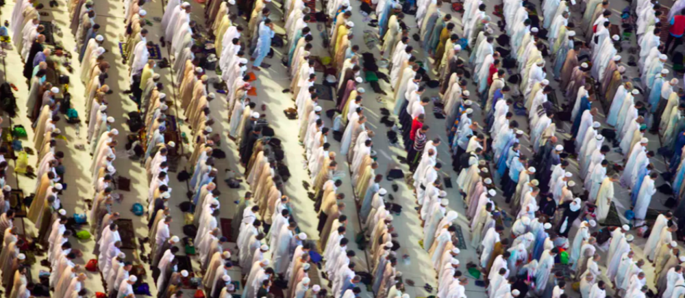 Muslim pilgrims pray at the Grand Mosque, ahead of the annual Hajj pilgrimage in Mecca, Saudi Arabia, in August 2017. AP Photo/Khalil Hamra