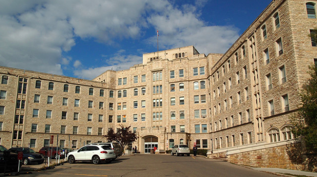 Royal University Hospital in Saskatchewan, Canada. Wendy Cooper. CC BY-NC-SA 2.0
