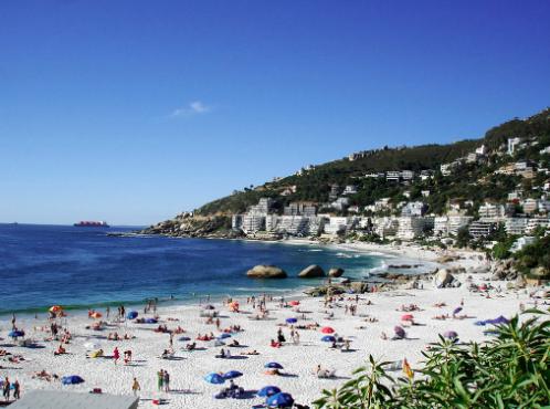 Clifton 4th Beach, in Cape Town. Warren Rohner. CC BY-SA 2.0.