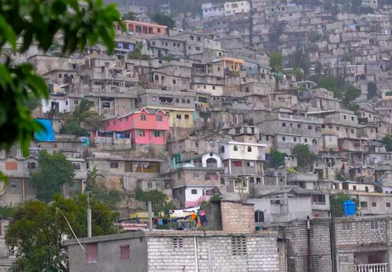 Hillside neighborhoods like this area outside Port-au-Prince are prone to mudslides during heavy rain. Reuters/Swoan Parker
