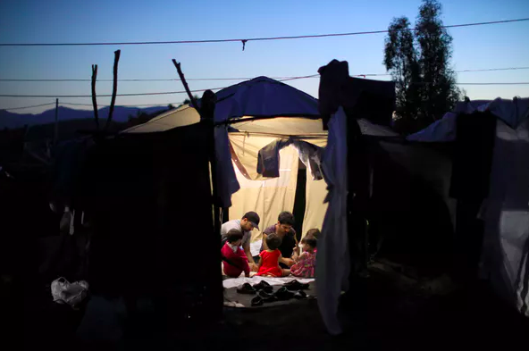 Asylum-seekers may stay at refugee camps for years while their claims are processed. Reuters/Giorgos Moutafis