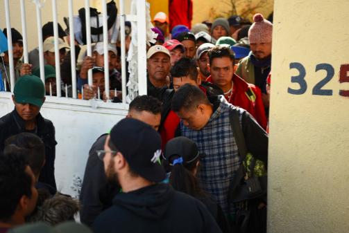 Asylum Seekers in Tlaquepaque, Jalisco. Daniel Arauz.