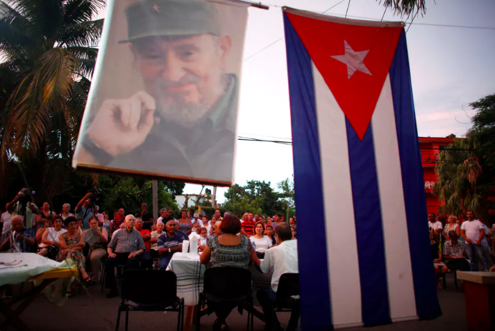 Cubans attend a public discussion to revamp the country's Cold War-era constitution in Havana, in August 2018. Reuters/Tomas Bravo