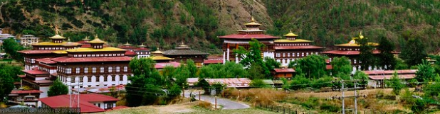 Thimphu Dzong, which has been the seat of the Bhutanese government since 1952. Robert GLOD. CC BY-NC-ND 2.0