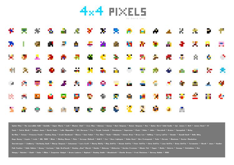 pixel art 4x4