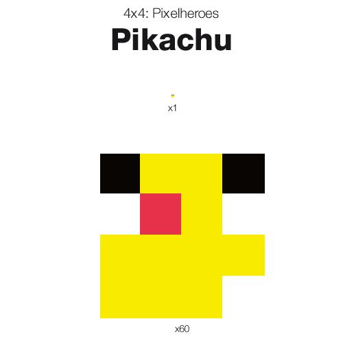 Cute Pixel Art Grid Easy