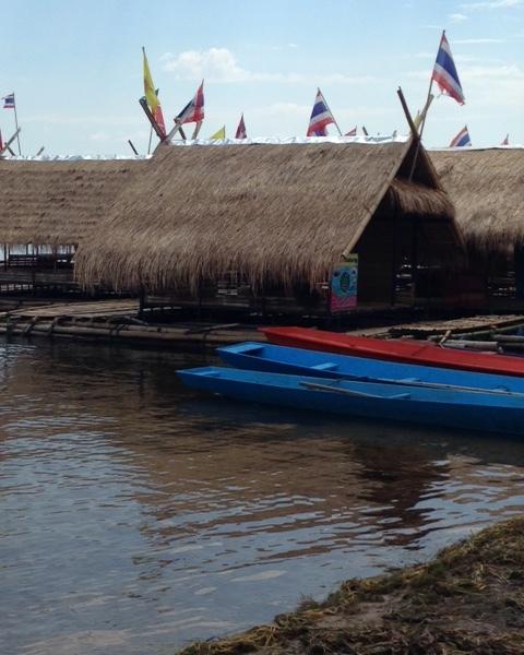Raft on Lake.JPG
