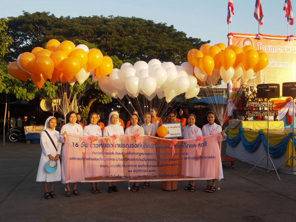 The Sisters at our Walk to Stop Violence Against Women and Children last weekend.