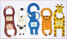 Reversible Fun Door Hangers