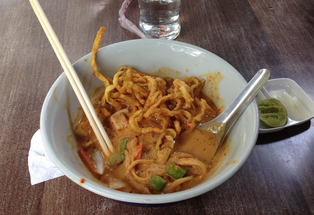 Khao Soi - a specialty curry dish native to Chiang Mai