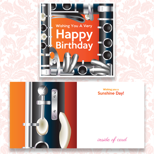 Happy Birthday Cards With A MUSIC Theme ACKER