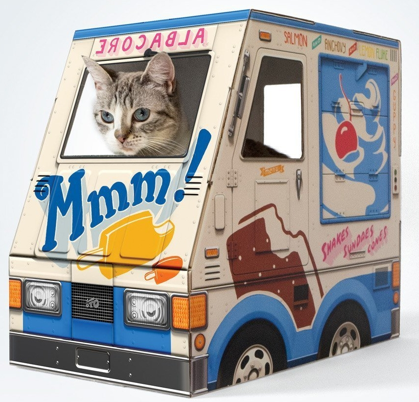 For the cats that need to start paying rent!