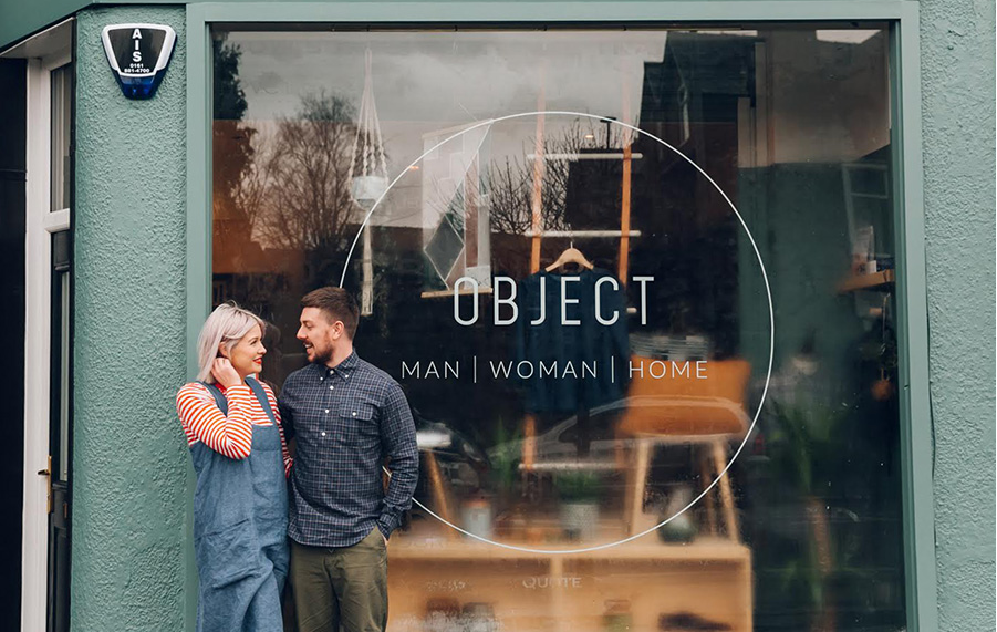 O B J E C T     - COOLEST COUPLE ALEX + RACHAEL RUN THEIR BEAUTIFUL CURATED SHOP BASED IN THE LEAF CHORLTON.  OBJECT, 519 BARLOW MOOR ROAD, M21 8QA
