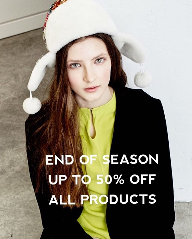 Don't miss our END OF SEASON SALE! Up to 50% off all products 🛍🛍🛍🛍 . . . #shopnow #onlineshopping #sale #accessories #fashion #fashiondesigner #sashasasha #endofseasonsale #fashionblogger #hat #scarf #instafashion #instagood #streetstyle #style