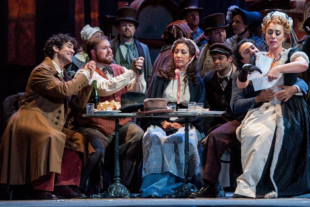 Schaunard in  La Boheme  with Michigan Opera Theatre