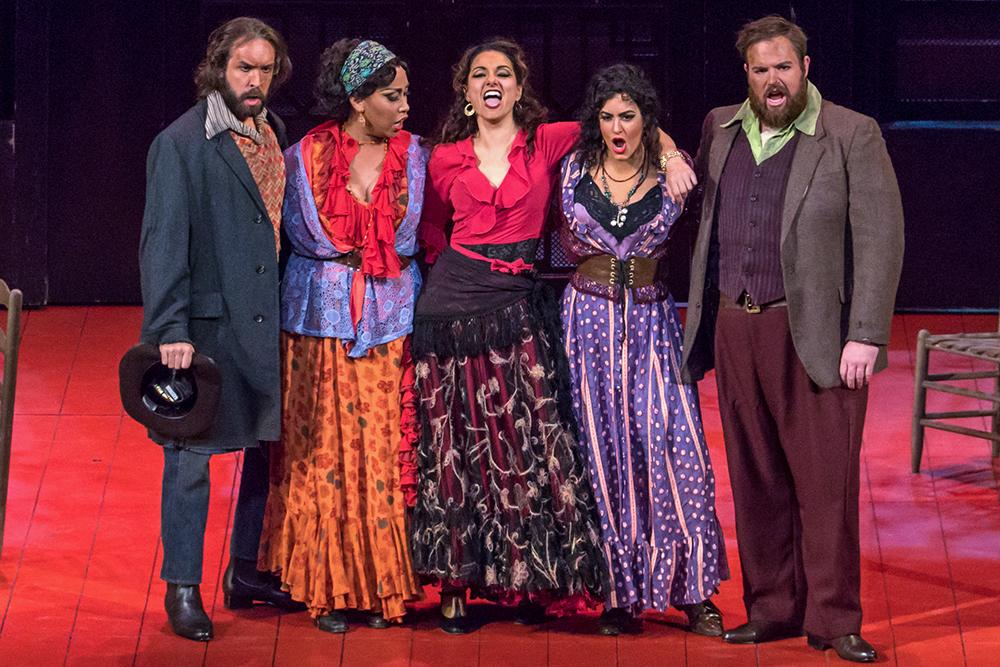 El Dancaïro in  Carmen  with Michigan Opera Theatre