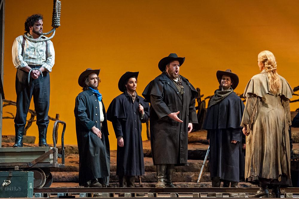 Sonora in  La Fanciulla del West  with Michigan Opera Theatre