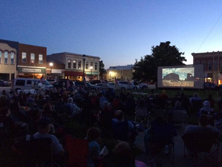 The Iowa presents a free outdoor screening of The Searchers during the John Wayne Birthday Celebration weekend, 2016.