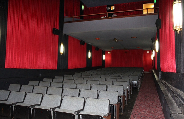 Theater interior, 2015.
