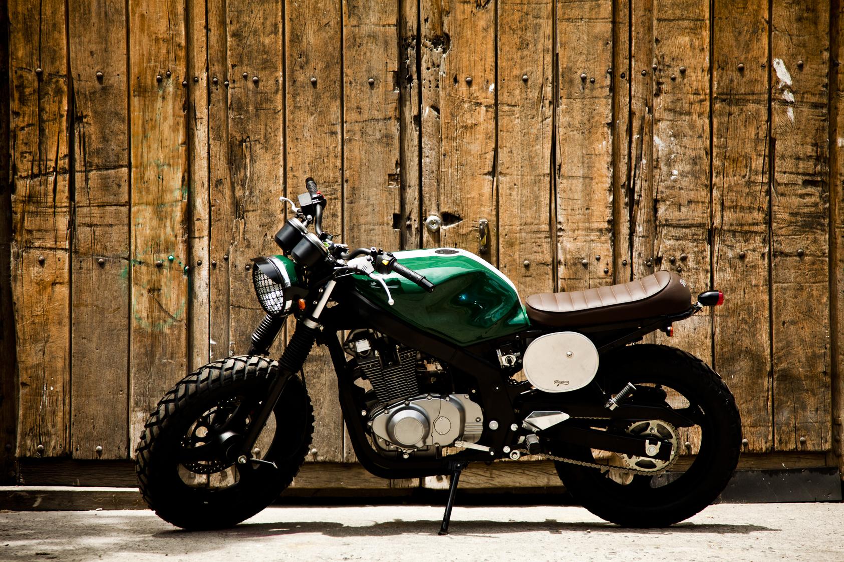 Gs 500 Motorcycle Suzuki Custom 15
