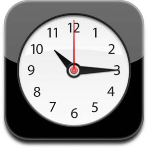 apple clock 2