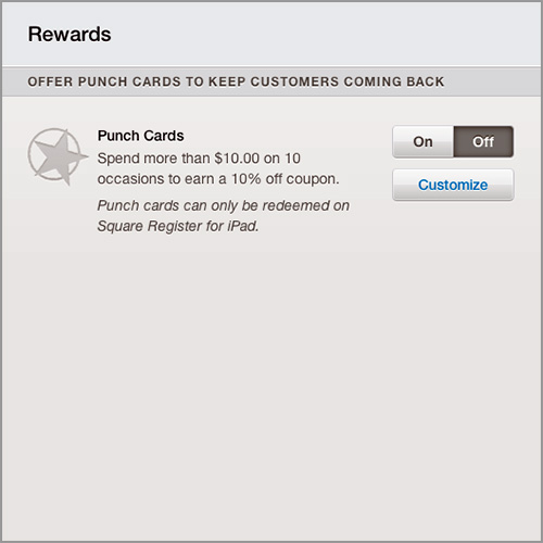 Square Register Rewards