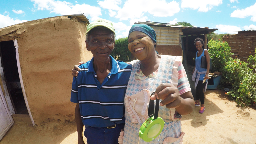 We had a great time in early 2016 distributing solar powered LED lights made by  Naturally Solar ! These lights, which can also be used to charge a cell phone, were a huge hit in  Langbos, Addo  - an informal settlement with no electricity.  Distributing these lights was part of our larger census project where we went door-to-door to every single home in Langbos conducting an in-depth census to gather information on health, employment, education, safety, and other topics to learn more about the Langbos community. This census will provide incredibly valuable data to help identify the greatest needs and opportunities in the community. We are currently compiling this data, as well as some great footage from this project, and we look forward to sharing more soon!  Thank you to  Naturally Solar  for your generosity and help with this project! And thank you to the Langbos community for welcoming us into your community and homes-- it was a pleasure to get to know you all better and we look forward to future projects in Langbos!