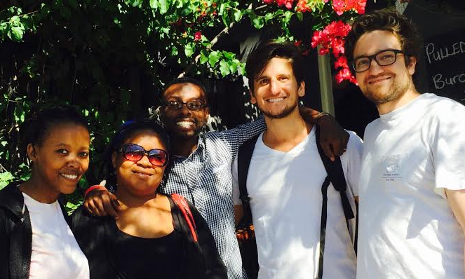 Intsikelelo & Siluncedo Team, December 2015  (Left to Right: Nokwanda Ndlovu, Zukie Mabuya, Simphiwe Mabuya, Chris Grava, NIck Grava)
