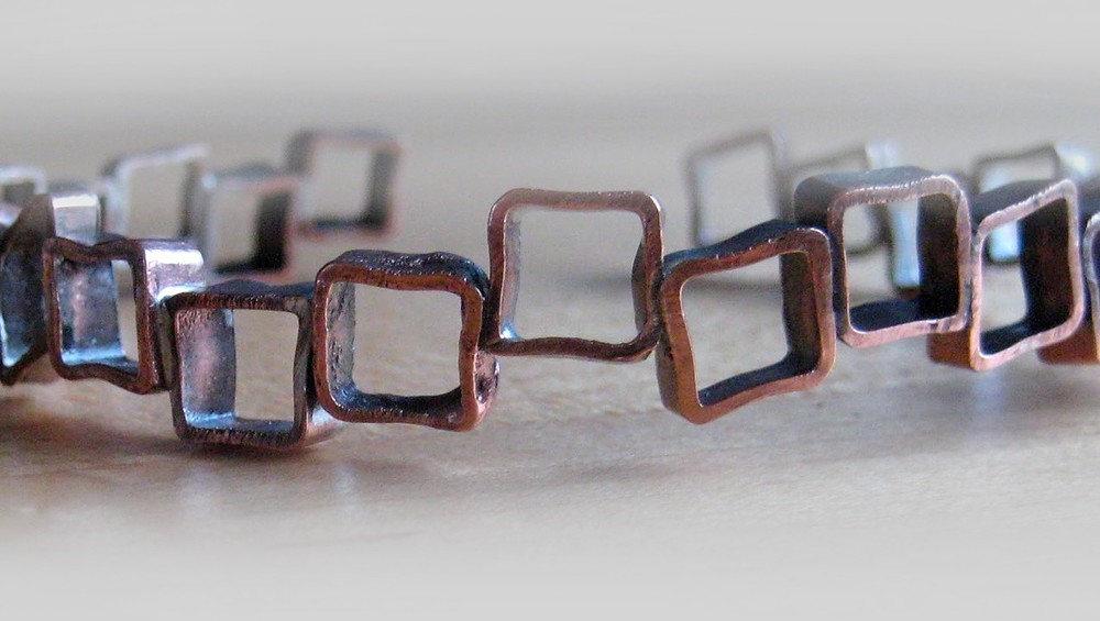 Trunk Show featuring Elena Sadovsky Metalworks—Bracelet © 2015.