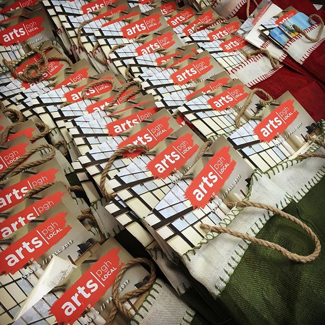 Happy Small Business Saturday!  You get a goodie bag*! You get a goodie bag*! Everybody gets a goodie bag*!!!! To get a goodie bag* filled with locally made goodness, spend $50 or more at The Artsmiths today, 11/25. * while supplies last. Limit one goodie bag per customer.  #smallbusinesssaturday #shopsmall #shoplocal #shoppgh #shophandmade #pghart #pgh #pittsburgh #mtlebanon #goodiebag #theartsmiths #artsmithspgh