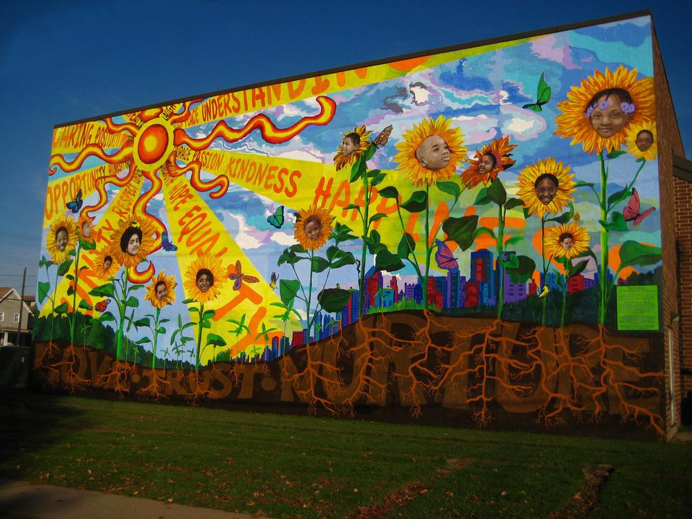 Williamsport Mural Elody Gyekis