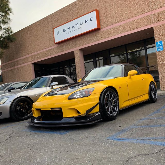 """@jessejia0923 - ver 2.0 for 2019 track season. Let's see some monster numbers. We love when our clients defy the stereotype to justify subpar aesthetics due to it being a """"track car"""". Is there something wrong with track cars looking """"good""""? 😎"""