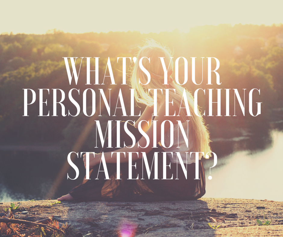 Yoga Teacher Talk: What's Your Personal Teaching Mission ...