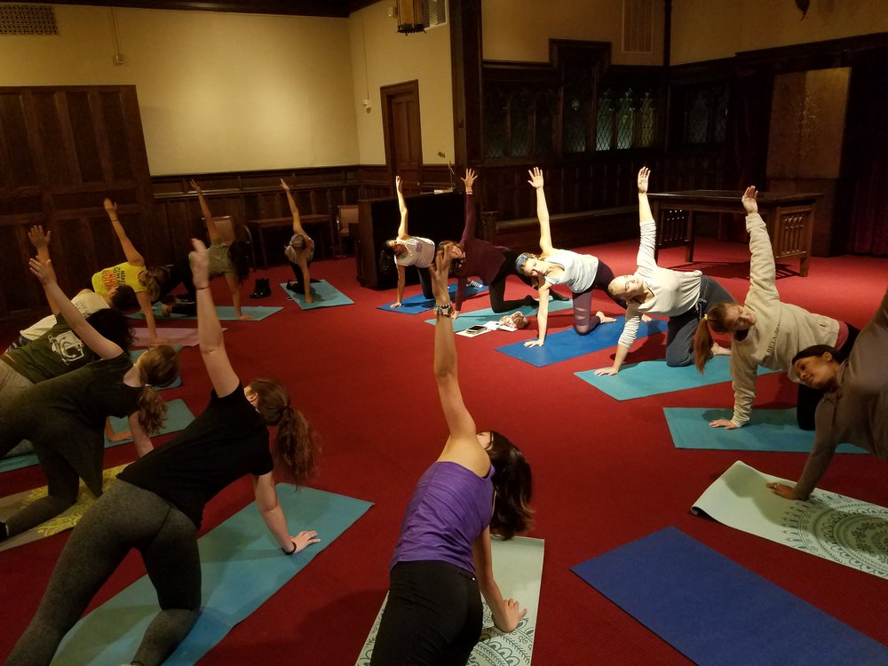 Lafayette College, Be Empowered In Your Body Workshop