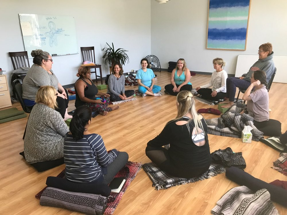 The Body Kindness Project Weekend Retreat, Himalayan Institute, Fall 2017