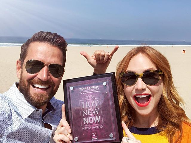 We're so stoked to be awarded the HOT NEW NOW Media award voted on by all the media talent attending the 2018 Wine & Spirits Wholesalers of America Convention! Thank you to the Spirits media community, we enjoyed getting to meet many of you last week and look forward to more conversations around a glass of Gray Whale Gin soon.  #woohoo #wswa #gin #WSWA75 #cocktails #craftspirits #la #california #graywhalegin