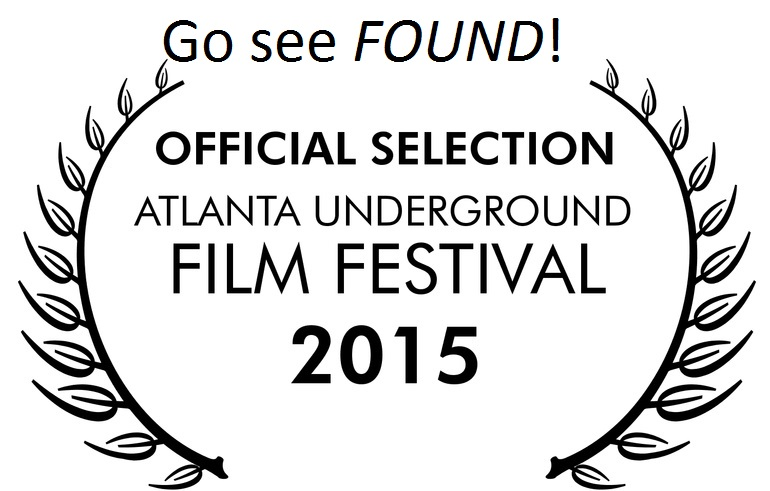 So excited to have Found as part of AUFF, go check it out if you're in the Atlanta area! For more information on the festival, take a look here