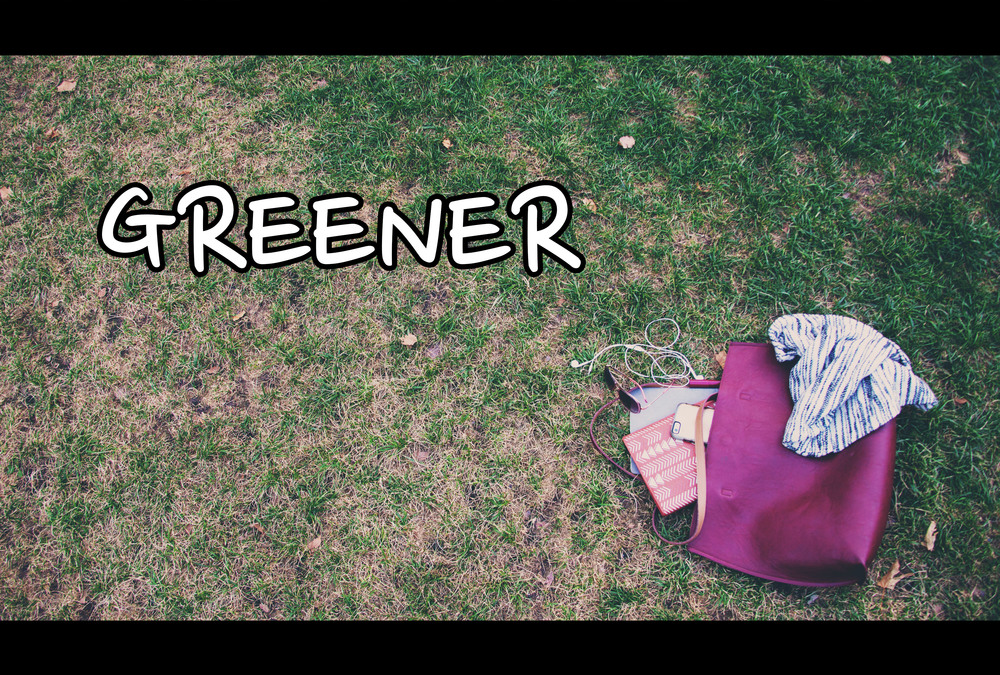 "Go take a look and vote for ""Greener"" now up for the Viewer's Choice Award in the Tiny Film Festival.   Click here to cast your vote"