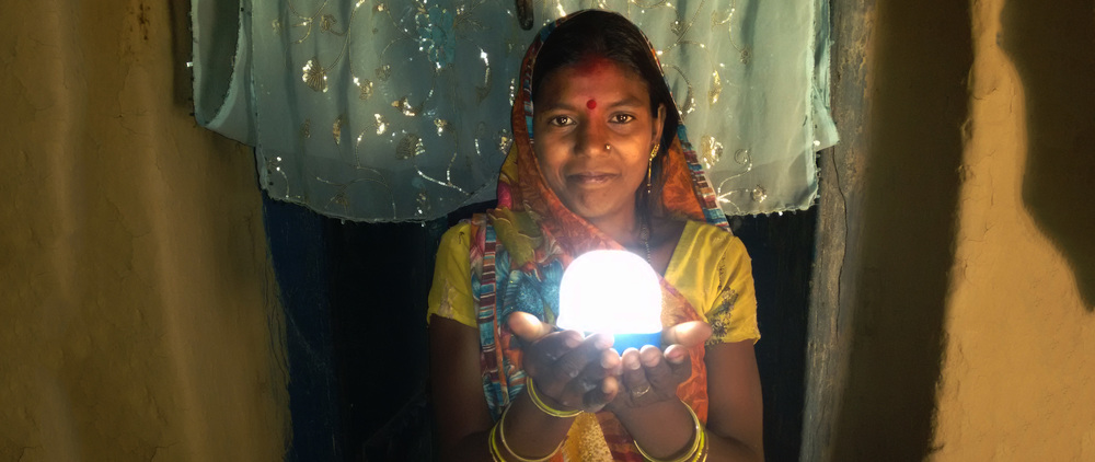 Inspired by India   The Rural Spark Lamp