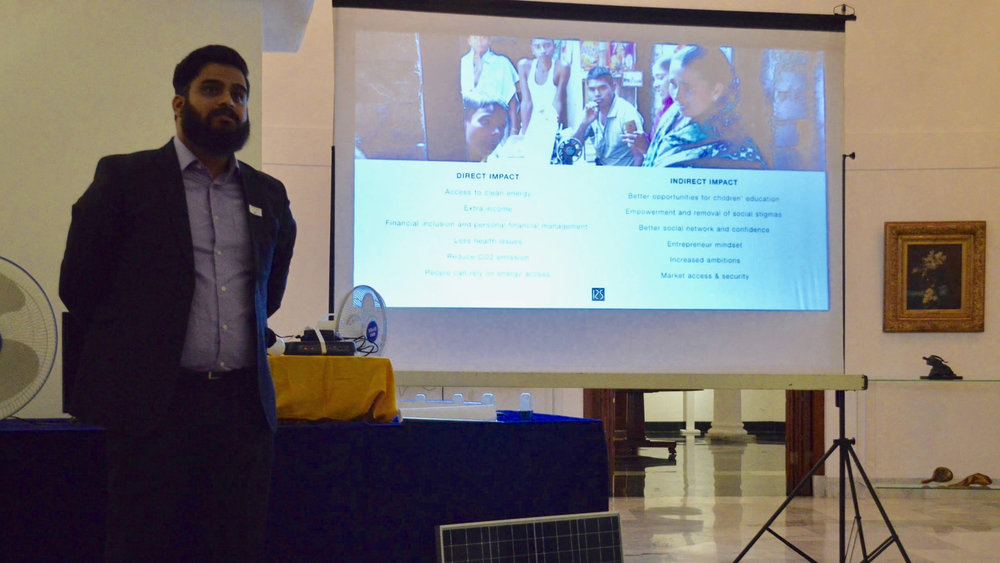 Prarabdh on the impact the kit has in the field, creating entrepreneurship and strenghtening communities while promoting livelihood.