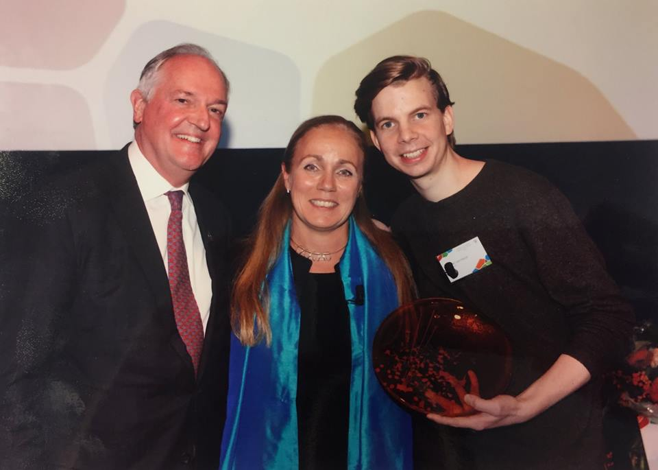 Paul Polman (CEO Unilever), Kitty van der Heijden (Director World Resources Institute Europe and Africa), and Marcel van Heist (Founding Director Rural Spark)