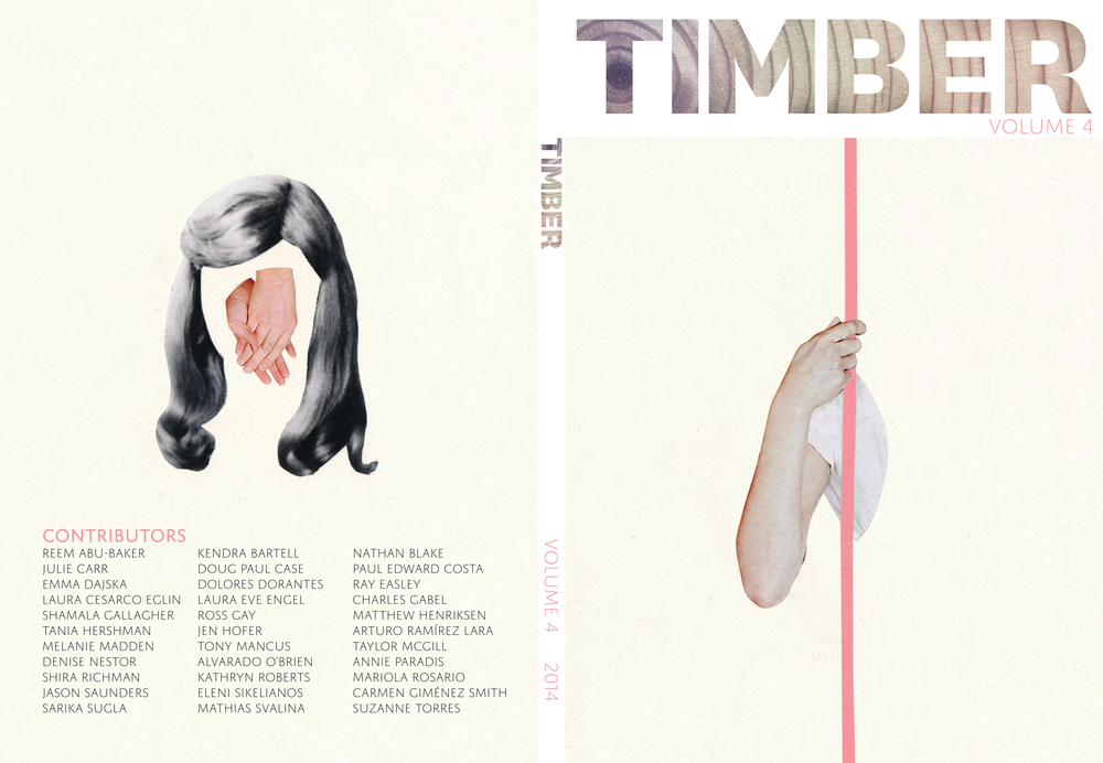 Timber Journal 2014 Cover Design, InDesign