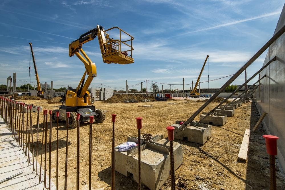Photographe architecture, entreprise, corporate, suivi et avancement de chantier. Paris, région parisienne, Servon