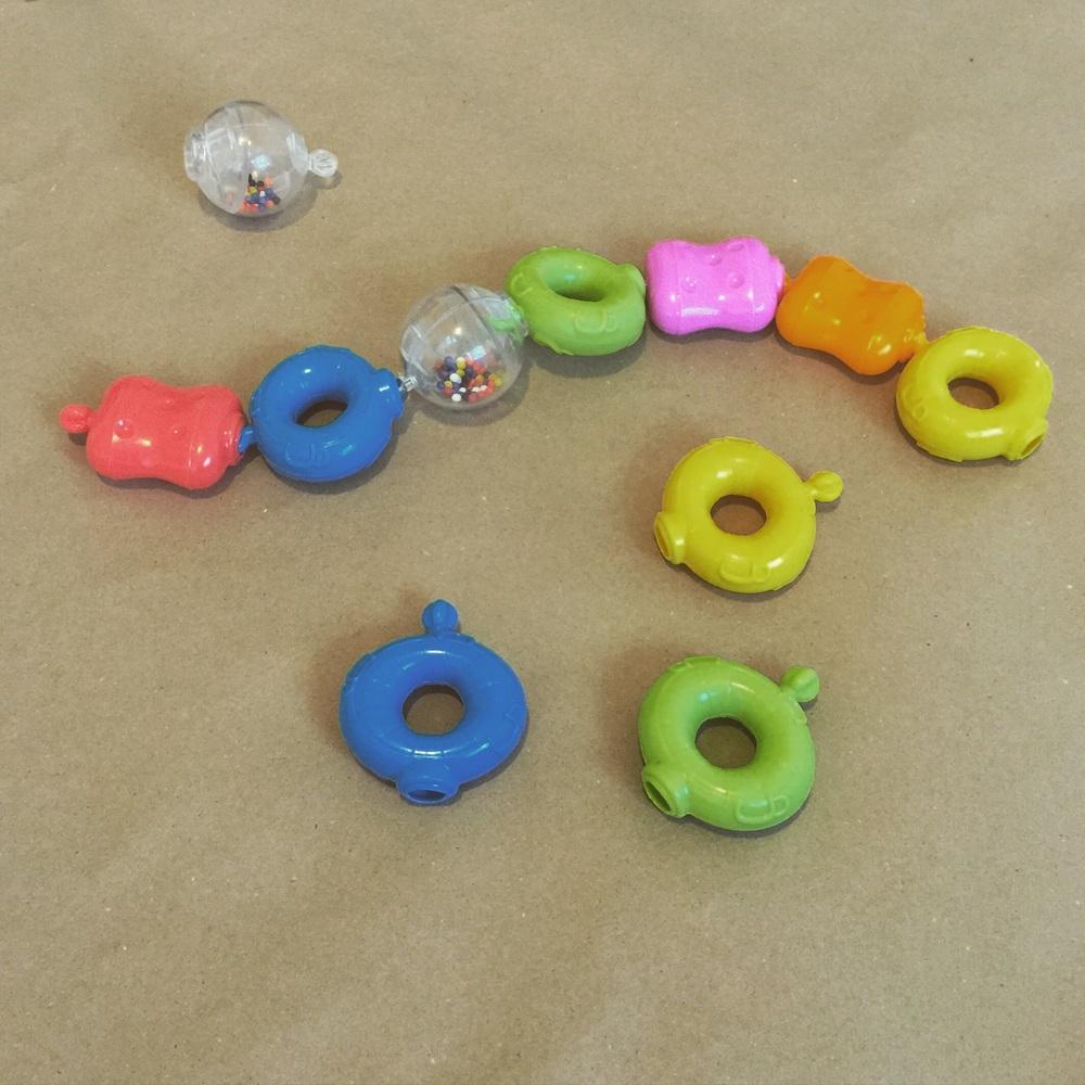 Make a pop bead train.