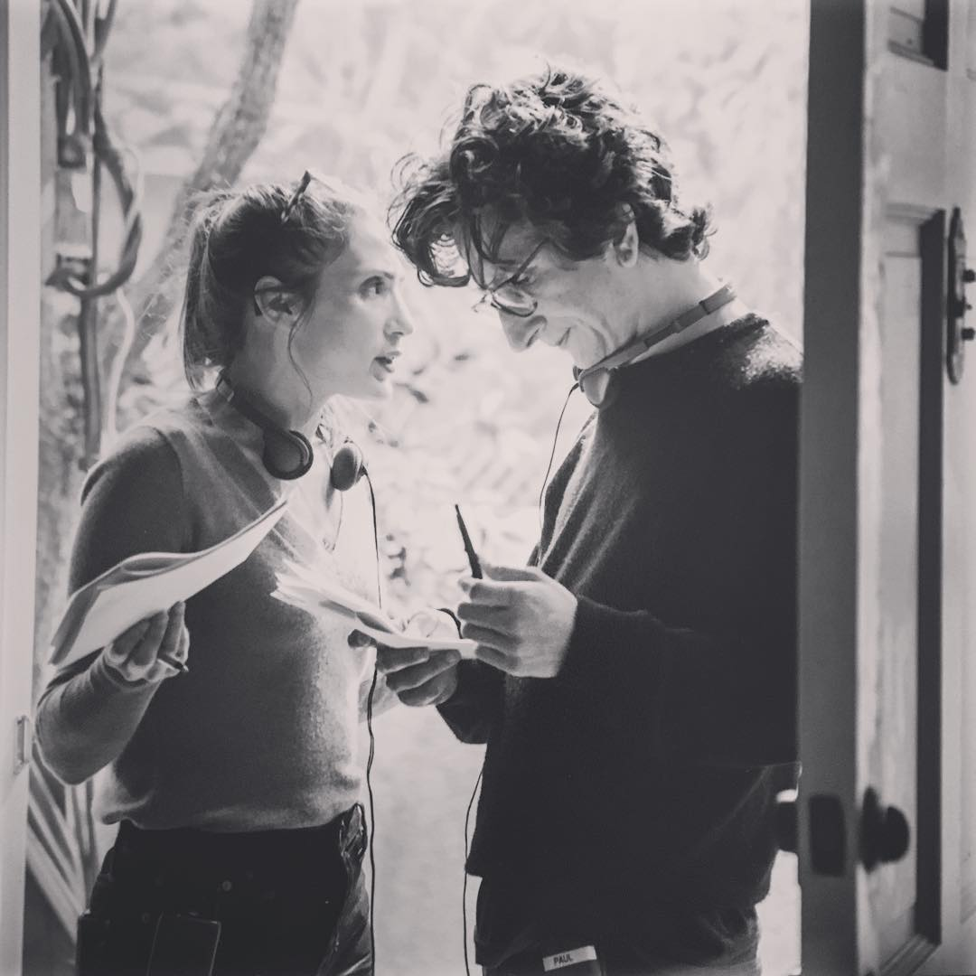 """<a href=""""http://instagram.com/lesleyarfin"""">@lesleyarfin</a> <a href=""""http://instagram.com/paulrust"""">@paulrust</a>"""
