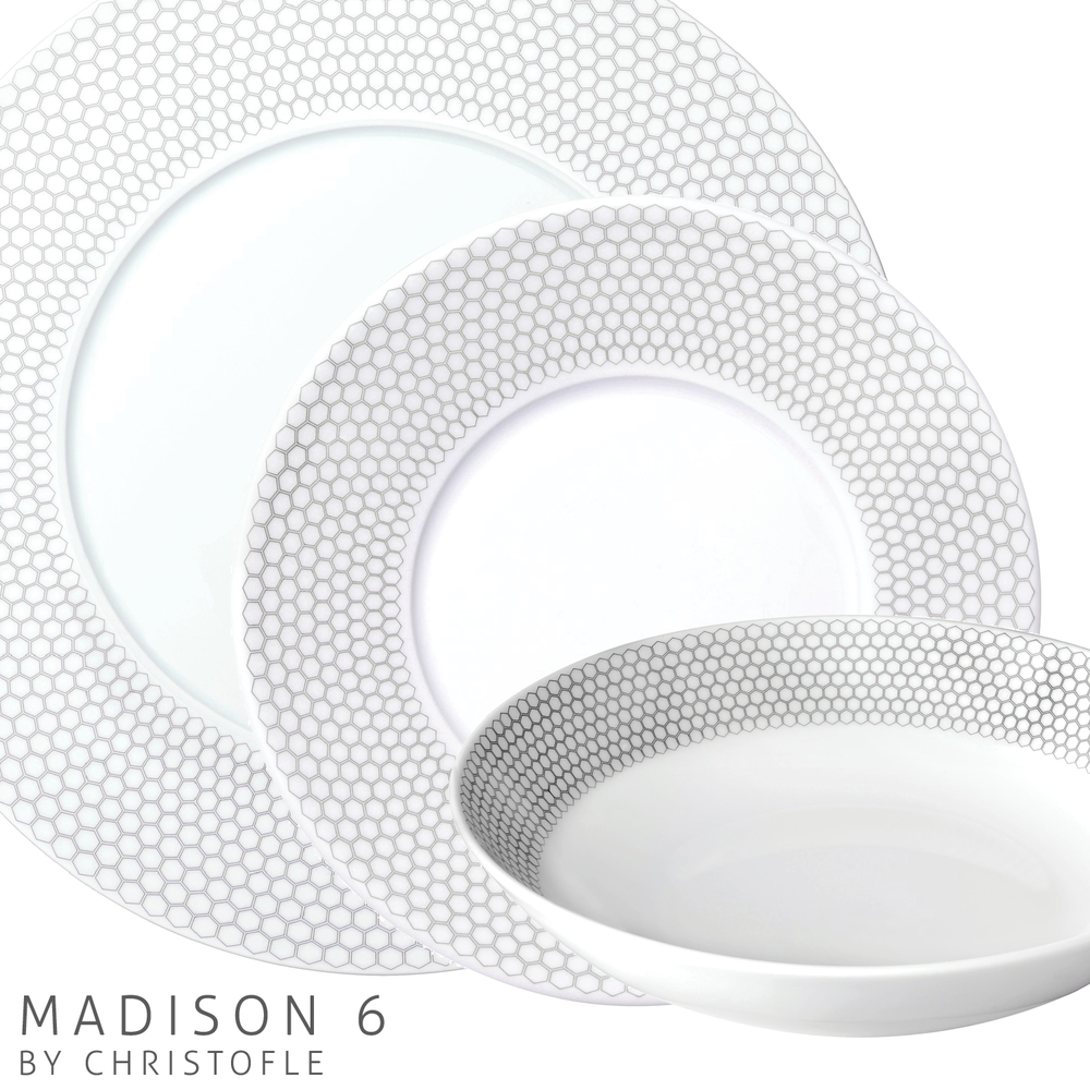 Primadonna China: Madison 6 by Christofle